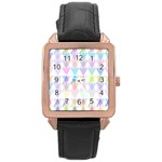 Zappwaits Papeete Rose Gold Leather Watch  Front