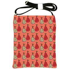 Pears Red Shoulder Sling Bag