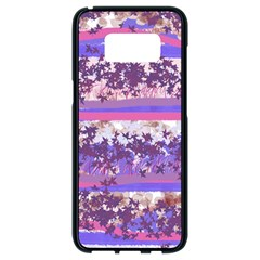Abstract Pastel Pink Blue Samsung Galaxy S8 Black Seamless Case by snowwhitegirl