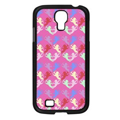 Colorful Cherubs Pink Samsung Galaxy S4 I9500/ I9505 Case (black)