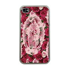 Guadalupe Roses Apple Iphone 4 Case (clear)