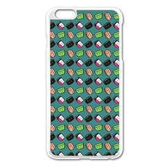 That Is How I Roll   Turquoise Apple Iphone 6 Plus/6s Plus Enamel White Case by WensdaiAddamns