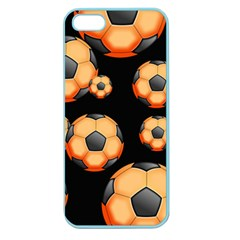 Wallpaper Ball Pattern Orange Apple Seamless Iphone 5 Case (color)