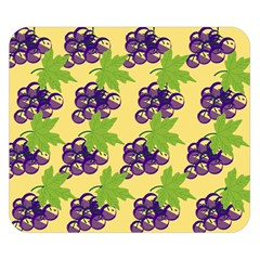 Grapes Background Sheet Leaves Double Sided Flano Blanket (small)  by Jojostore