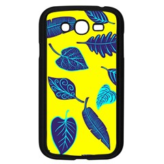 Leaves Leaf Samsung Galaxy Grand Duos I9082 Case (black)