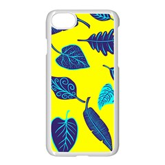 Leaves Leaf Apple Iphone 8 Seamless Case (white)