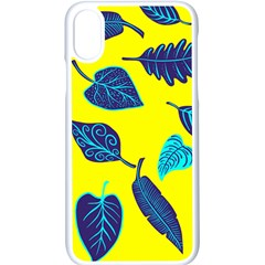 Leaves Leaf Apple Iphone X Seamless Case (white)