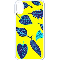 Leaves Leaf Apple Iphone Xs Seamless Case (white)