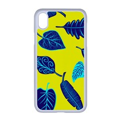 Leaves Leaf Apple Iphone Xr Seamless Case (white)