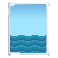 Making Waves Apple Ipad 2 Case (white) by WensdaiAddamns