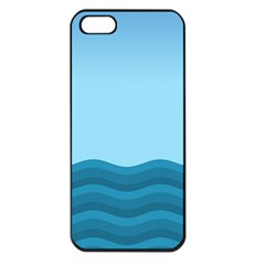 Making Waves Apple Iphone 5 Seamless Case (black) by WensdaiAddamns