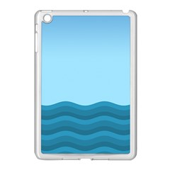 Making Waves Apple Ipad Mini Case (white) by WensdaiAddamns