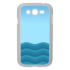 Making Waves Samsung Galaxy Grand Duos I9082 Case (white) by WensdaiAddamns