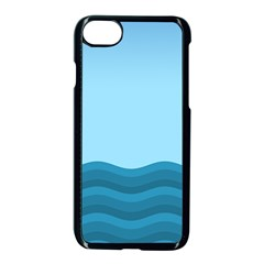 Making Waves Apple Iphone 7 Seamless Case (black) by WensdaiAddamns
