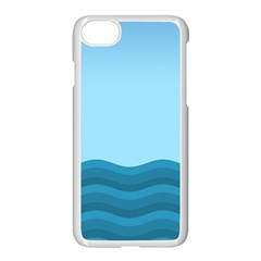 Making Waves Apple Iphone 8 Seamless Case (white) by WensdaiAmbrose