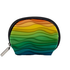 Waves Texture Accessory Pouch (small)