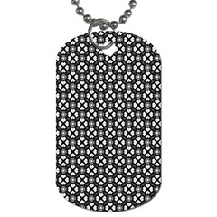 Imagine Paint Black White Dog Tag (one Side) by Jojostore