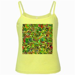 Leaves Leaf Nature Ecological Yellow Spaghetti Tank