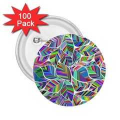 Leaves Leaf Nature Ecological 2 25  Buttons (100 Pack)