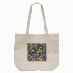 Leaves Leaf Nature Ecological Tote Bag (cream)