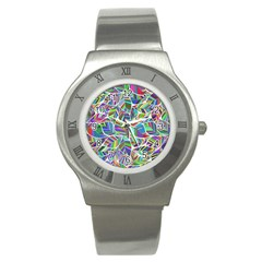 Leaves Leaf Nature Ecological Stainless Steel Watch