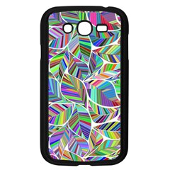Leaves Leaf Nature Ecological Samsung Galaxy Grand Duos I9082 Case (black)