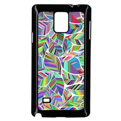 Leaves Leaf Nature Ecological Samsung Galaxy Note 4 Case (black)