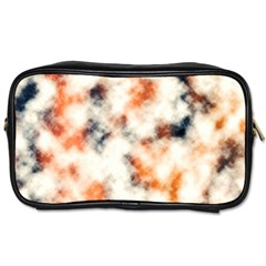 Multicolored Blur Abstract Texture Toiletries Bag (two Sides) by dflcprintsclothing