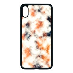 Multicolored Blur Abstract Texture Apple Iphone Xs Max Seamless Case (black) by dflcprintsclothing