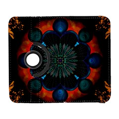 Ornament Fractal Pattern Background Samsung Galaxy S  Iii Flip 360 Case