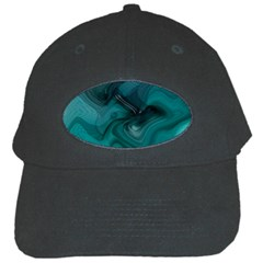 Abstract Graphics Water Web Layout Black Cap
