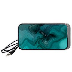 Abstract Graphics Water Web Layout Portable Speaker