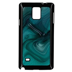 Abstract Graphics Water Web Layout Samsung Galaxy Note 4 Case (black)