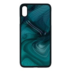 Abstract Graphics Water Web Layout Apple Iphone Xs Max Seamless Case (black)