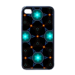 Ornament Pattern Color Background Apple Iphone 4 Case (black)