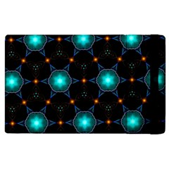 Ornament Pattern Color Background Apple Ipad 2 Flip Case by Pakrebo