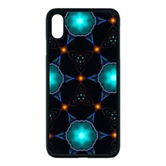 Ornament Pattern Color Background Apple Iphone Xs Max Seamless Case (black)