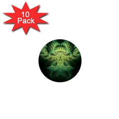 Fractal Jwildfire Scifi 1  Mini Buttons (10 Pack)