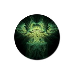 Fractal Jwildfire Scifi Rubber Round Coaster (4 Pack)