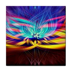 Colorful Chakra Lsd Spirituality Tile Coasters
