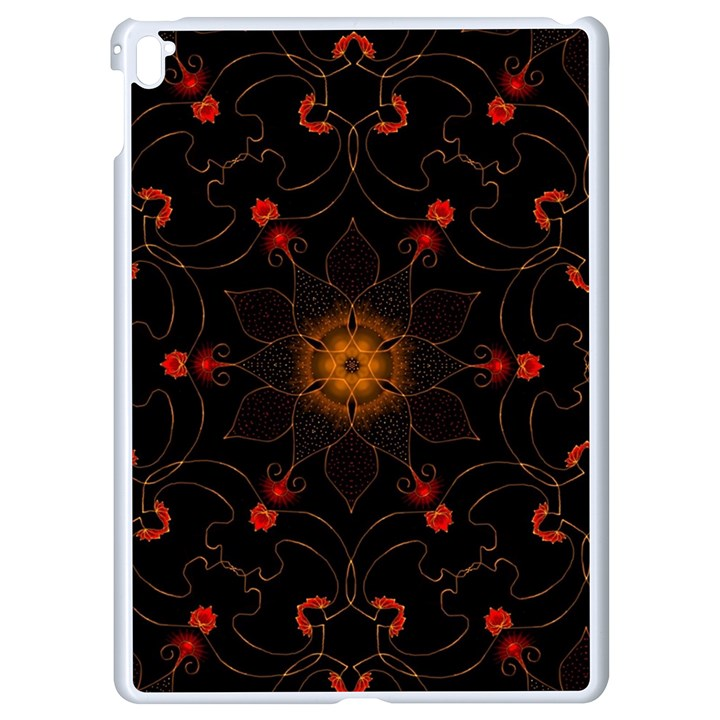 Ornament Background Tender Web Apple iPad Pro 9.7   White Seamless Case