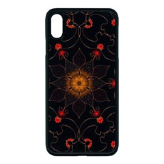 Ornament Background Tender Web Apple Iphone Xs Max Seamless Case (black)