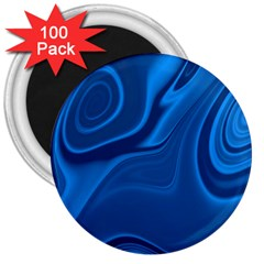 Rendering Streak Wave Background 3  Magnets (100 Pack)