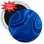 Rendering Streak Wave Background 3  Magnets (100 pack) Front