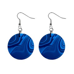 Rendering Streak Wave Background Mini Button Earrings