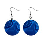 Rendering Streak Wave Background Mini Button Earrings Front