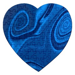 Rendering Streak Wave Background Jigsaw Puzzle (heart)