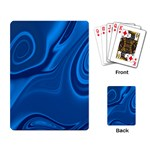 Rendering Streak Wave Background Playing Cards Single Design Back
