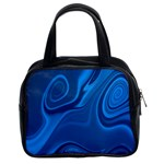 Rendering Streak Wave Background Classic Handbag (Two Sides) Front