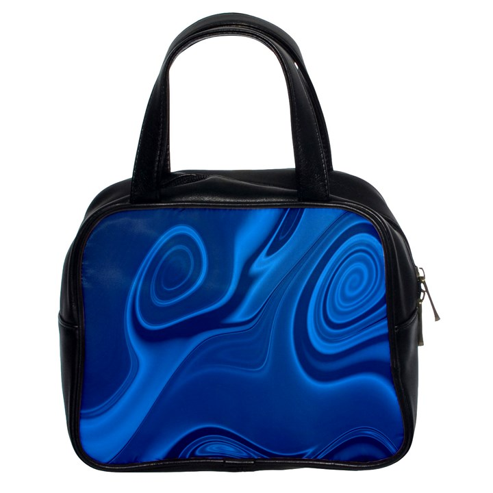 Rendering Streak Wave Background Classic Handbag (Two Sides)